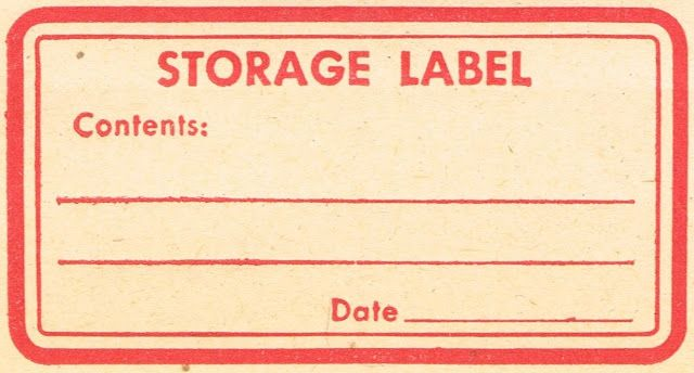 8 Vintage Red Labels - Perfect for Christmas! - Knick of Time