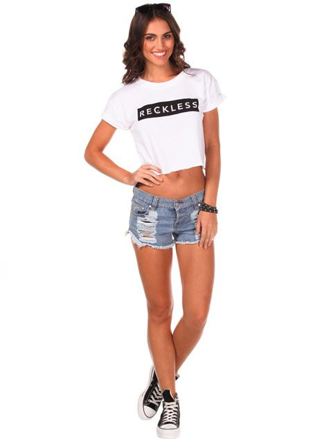 Young & Reckless Straight Up T-shirt from City Beach Australia