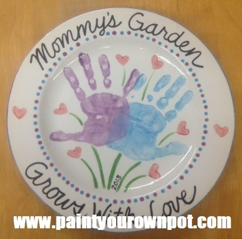 """""""Mommy's Garden"""" 2013. You can also change it up for Grandma, too!"""