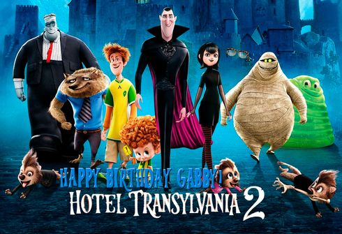 Hotel Transylvania 2 Personalized Poster