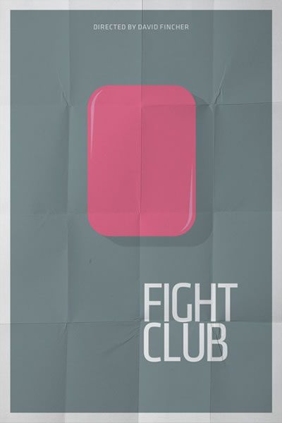 Fight Club minimalist poster. How could I not post this?