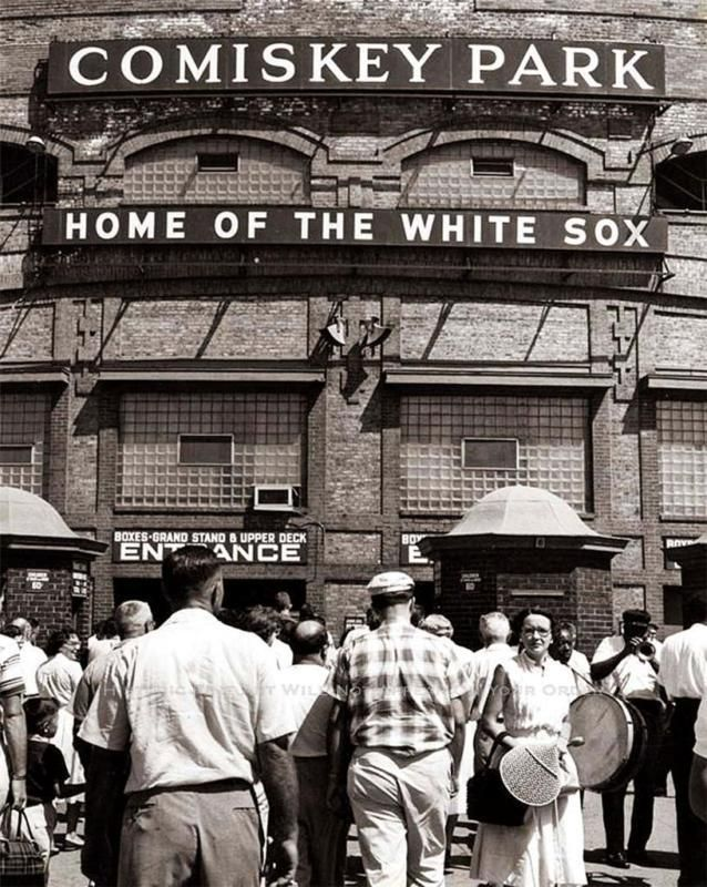 Chicago 1950s - Comiskey Park home of the Chicago White Sox