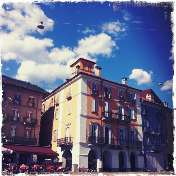 Shopping piazza - Locarno, Switzerland