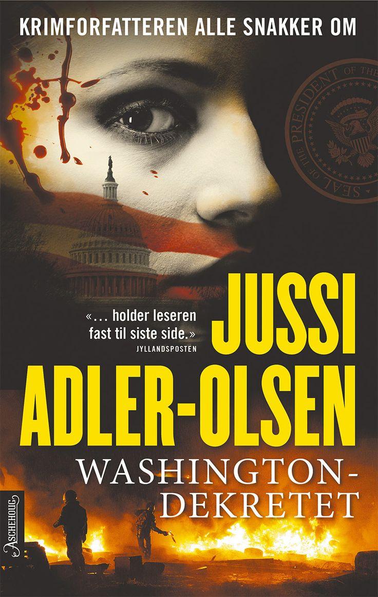 Vår pris 349,-(portofritt). Hva skjer hvis den amerikanske presidenten blir gal? Jussi Adler-Olsen er i storform i Washingtondekretet!