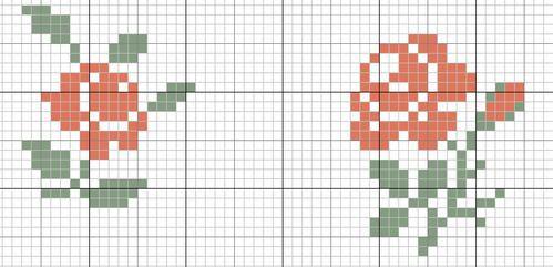 Une nouvelle grille pour le Coussin Diagonal et un exemple chez une visiteuse du blog - Le blog de vava