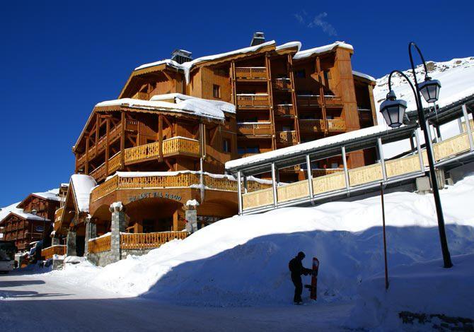 Résidence Val 2400 Val Thorens, promo séjour ski pas cher, location Ski Val Thorens Opodo prix promo Ski Opodo à partir 860,00 € TTC