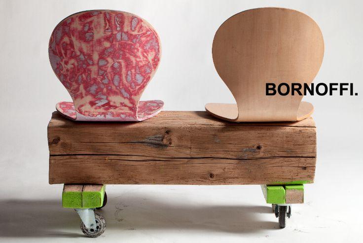 Wheeled Bench by eco Designer L. Bornoffi. Enjoy.