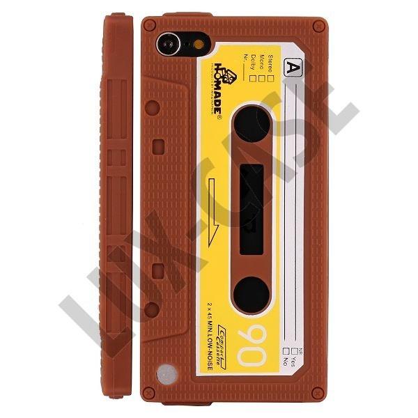 Retro Cassette Tape (Brun) iPod Touch 5 Skydd