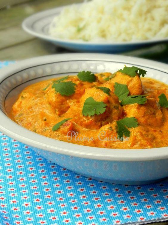 Poulet indien au curry - Je crois que c'est l'un des plus délicieux curry indien que je n'ai jamais mangé, et en plus, tellement facile à préparer, à la portée de tous!