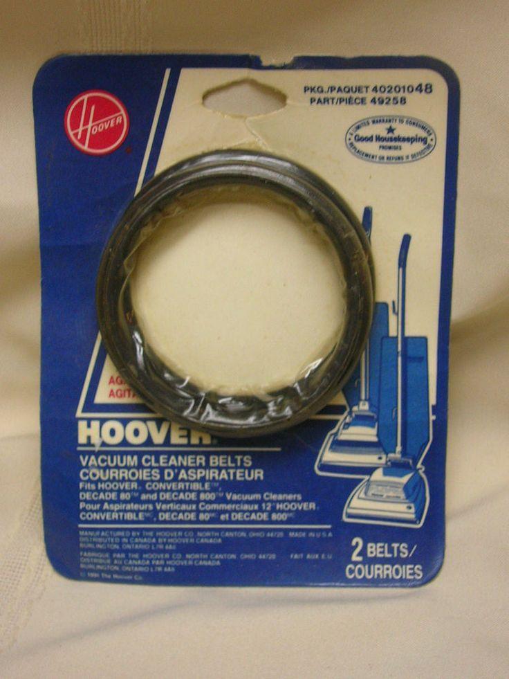 Hoover Vacuum Cleaner Belts Type 48 Agitator Belt Part #49258 - NEW Old Stock #Hoover