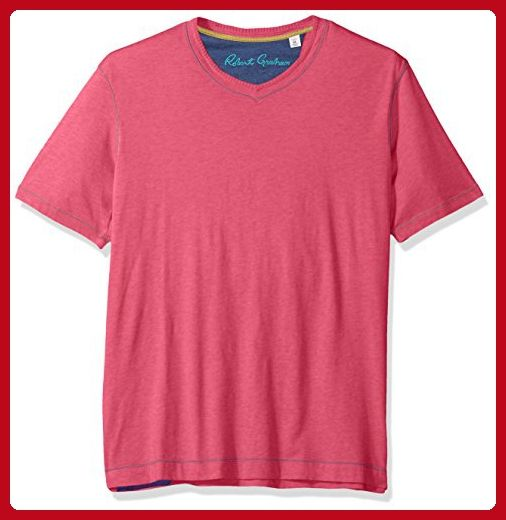 Robert Graham Men's Classic Fit Basic Knit Tee-Shirt - Mens world (*Amazon Partner-Link)
