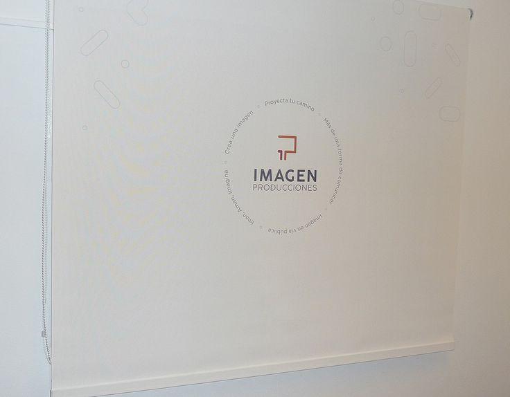 Cortina Roller Screen 5%  Impresa- Proyecto Imagen Producciones