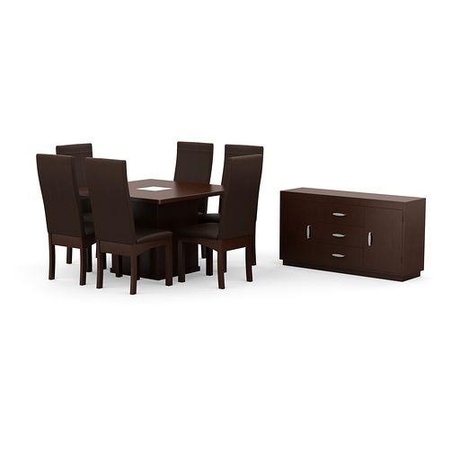 Las 25 mejores ideas sobre comedor 6 sillas en pinterest Muebles estilo contemporaneo moderno