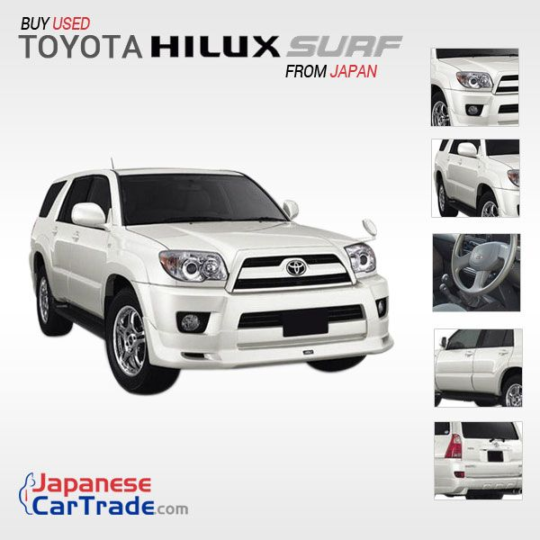 Toyota Suff: Toyota Hilux Surf–Most Capable SUV. Latest 100 Hilux Surf