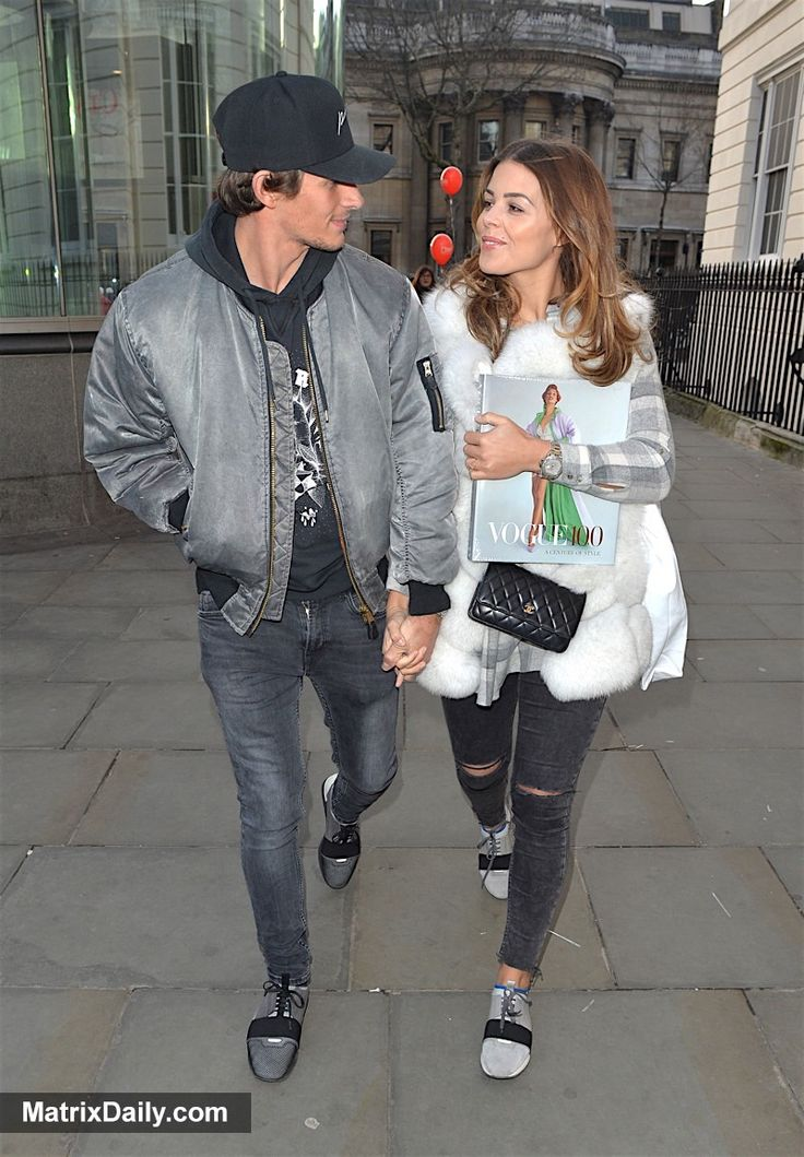 Celebrity Loved-up TOWIE couple Chloe Lewis and Jake Hall spend Valentine's Day together at