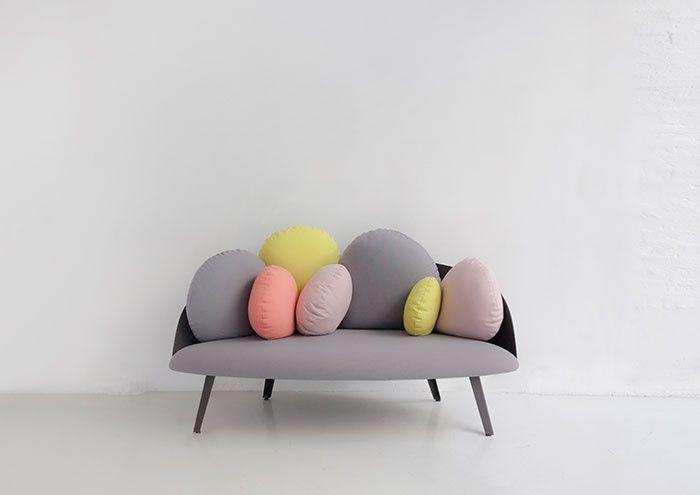 Salon du meuble de Milan 2014 - Canapé Nubilo, Constance Guisset (Petite Friture)