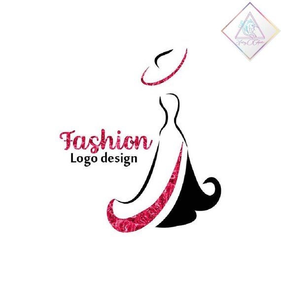 Premade Fashion Logo Design In Png And Pdf Format Woman In