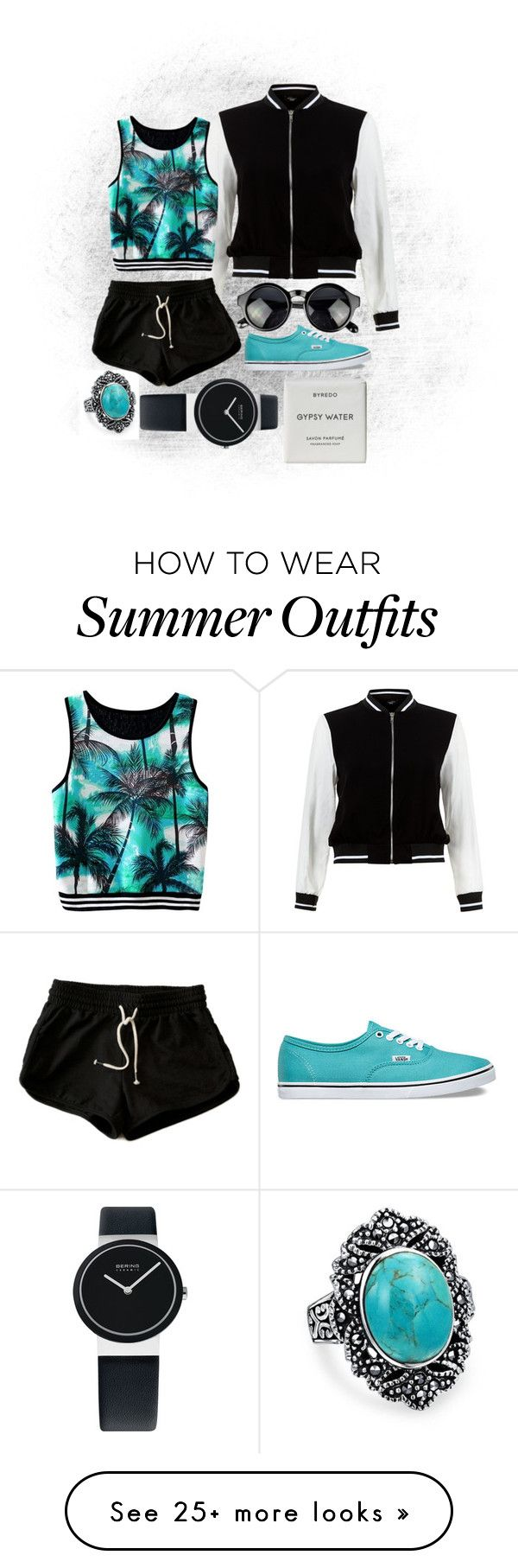 """We Don't Deal With Outsiders Very Well"" by katielynnr on Polyvore featuring Bling Jewelry, New Look, Vans and Byredo"
