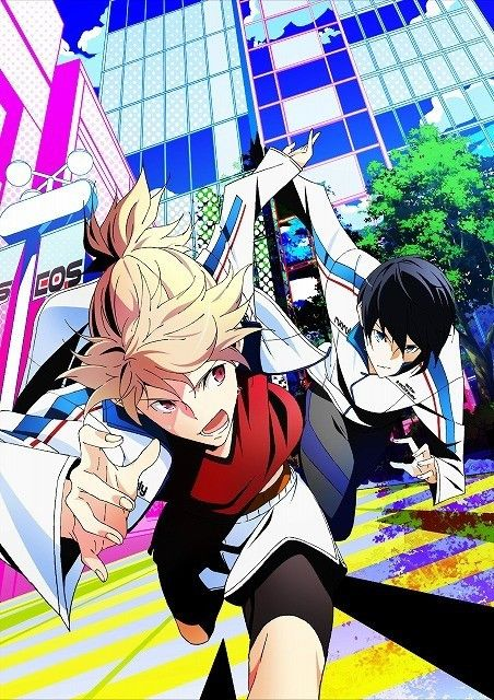 Prince of Stride Alternative >> Just watched the first episode! Lovin' the art style, opening, and it's just totally downright AWESOME.
