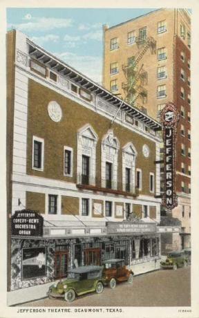 Jefferson Theatre, Beaumont, Texas 1920s