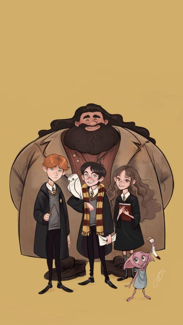 Harry Potter Arts Harry Potter Artwork Harry Potter Cartoon Harry Potter Illustrations