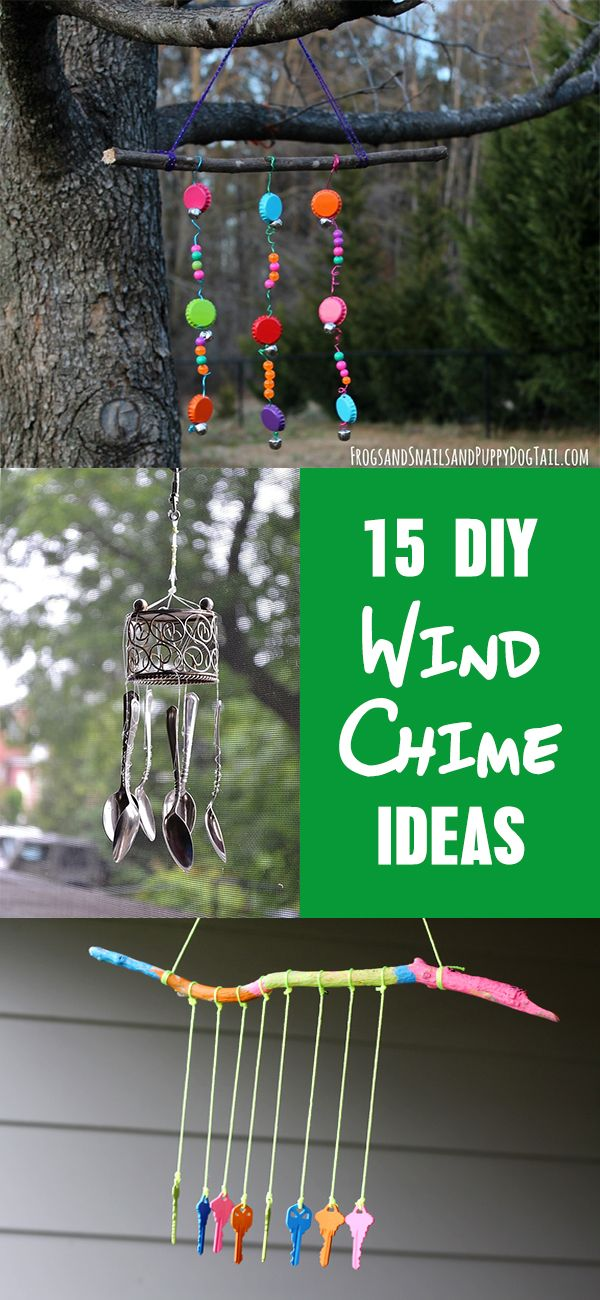 40 Homemade Diy Wind Chime Ideas Kendin Yap Elisi Yaratici