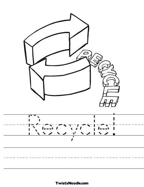 9 best Recycle images on Pinterest | Earth day worksheets, Earth ...