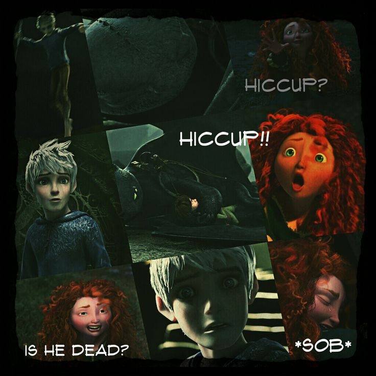 The Adventures of the Big Four: Page 23  by 1JoyDreamer.deviantart.com on @deviantART Hiccup has fallen and Jack and Merida aren't sure and aren't willing to check if he's dead.