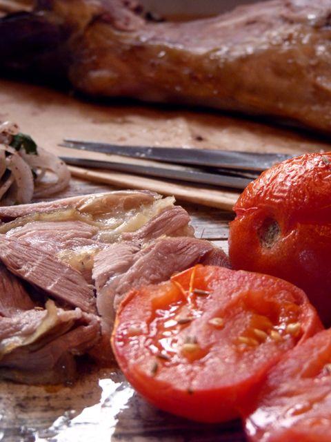 Рецепт Баранья лопатка с печеными помидорами и зирой #foodfoto, #зож, #палео, правильное питание, #диета, ем и #худею, #здоровое вкусно.