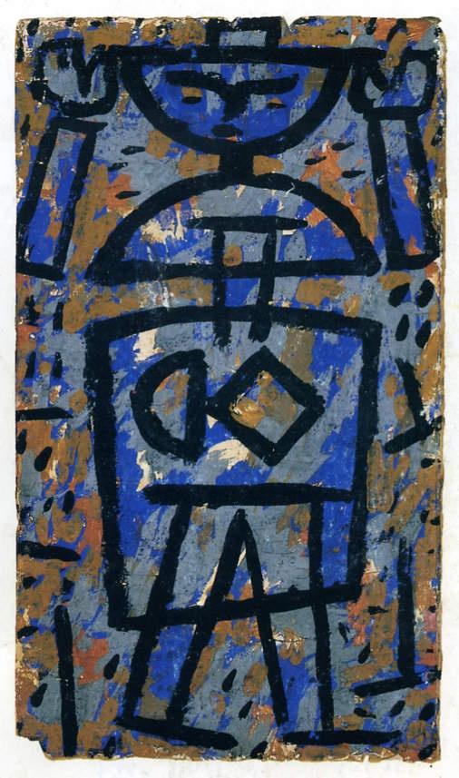 Paul Klee. « Haut les mains » 1938. http://mine-dart.blogspot.fr/2011/03/artiste-damien-hirst.html#