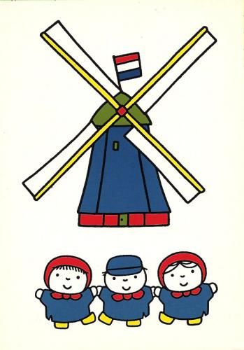 Prentenboeken (The Picturebooks) Dick Bruna. From the Netherlands