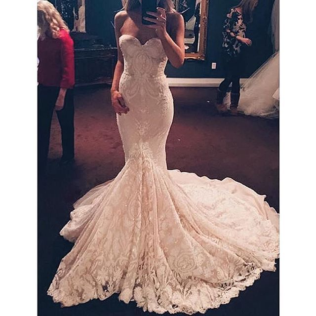 Wedding Dresses Under 100 Jewellery : Best 20 lace mermaid ideas on pinterest wedding