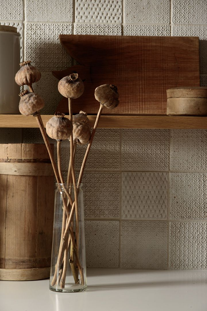 Mix and max our beautiful handmade ceramic tiles for that vintage Mediterranean feel