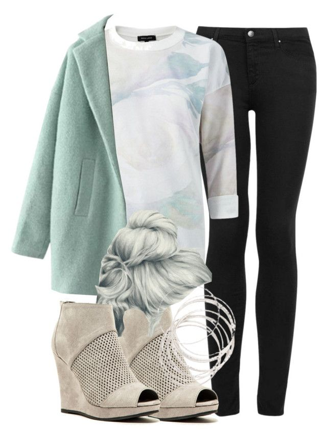 """""""Lydia Inspired Winter Date Outfit"""" by veterization ❤ liked on Polyvore featuring Topshop, Qupid and GE"""