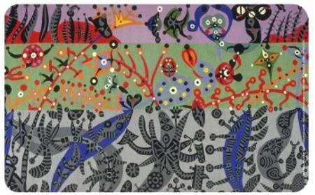 Alfre Pellan, Jardin d'OLivia, 1969-1970, MNBAQ