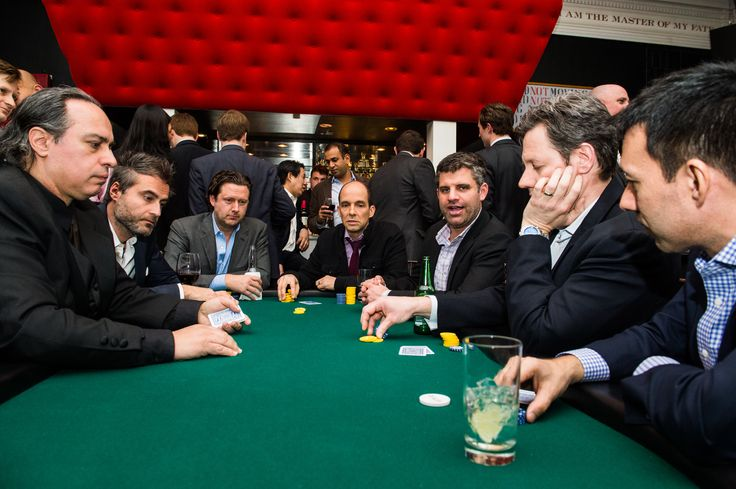 The final poker table at the StreetWise Partners Raising the Ante Charity Poker Tournament and Casino Event on March 11, 2015 in New York City. Learn more at http://streetwisepartners.org Photo by Brooke Ismach