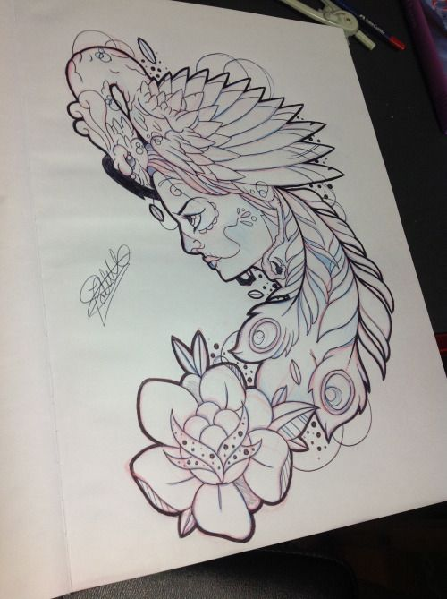 tumblr mg1q85m3mn1s047o7o1 500 669 tattoo pinterest tatuajes dise os tatuajes y. Black Bedroom Furniture Sets. Home Design Ideas