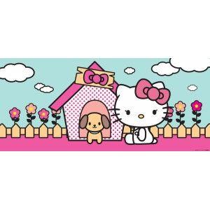 Hello Kitty gyerek poszter (202 cm x 90 cm)
