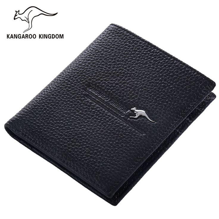 $9.90 (Buy here: https://alitems.com/g/1e8d114494ebda23ff8b16525dc3e8/?i=5&ulp=https%3A%2F%2Fwww.aliexpress.com%2Fitem%2FKangaroo-Kingdom-Fashion-Luxury-Men-Wallets-Genuine-Leather-Purse-Famous-Brand-Wallet%2F32722600922.html ) Kangaroo Kingdom Fashion Luxury Men Wallets Genuine Leather Purse Famous Brand Wallet  for just $9.90