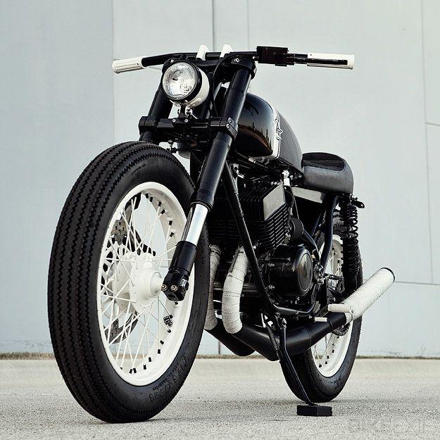 Yamaha RD350s by Tony Prust.