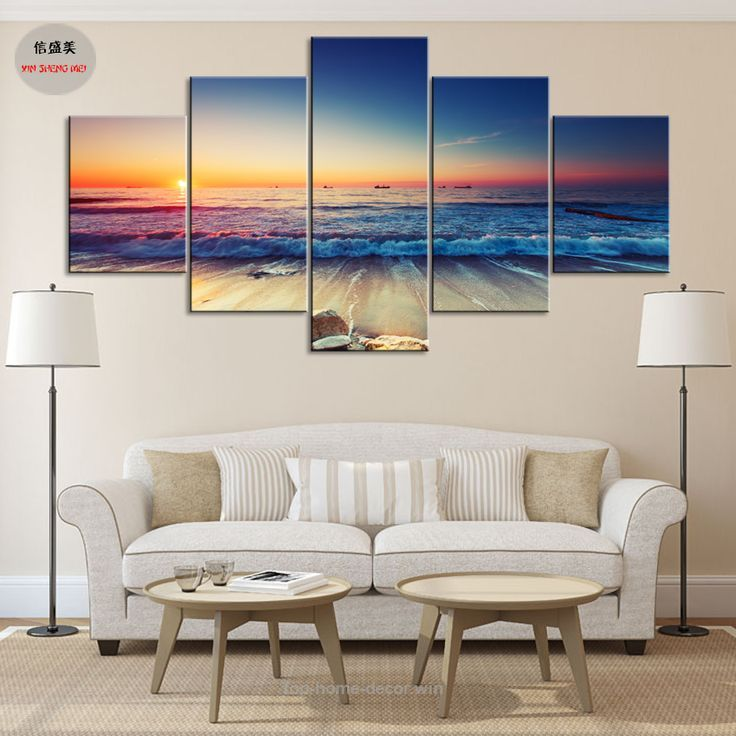 5 Piece Canvas Art Painting Pintura Wall Pictures For Living Room Cheap  Modern P Part 67