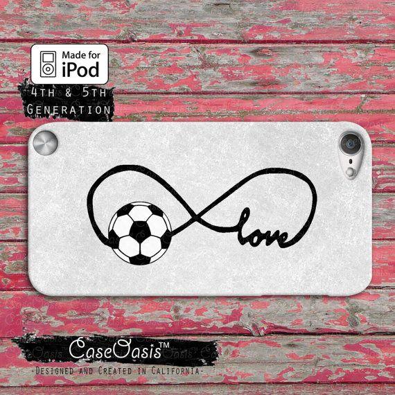 Soccer Love Infinity Symbol Cute Tumblr Custom Case Ipod