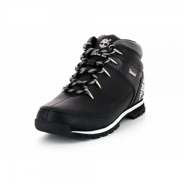 Timberland Euro Sprint Hiker 6665R Black Smooth in 2020