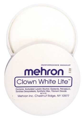 Clown White Cream Costume Makeup - http://renas.tips/halloween/?product=clown-white-cream-costume-makeup