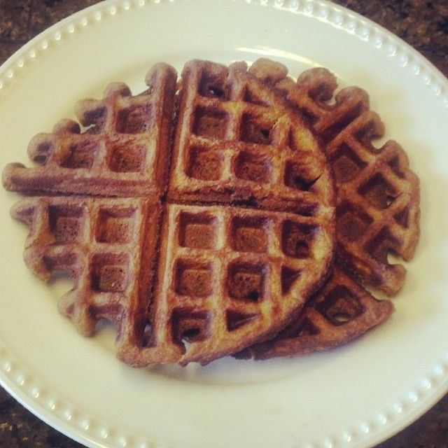 ... are the best Sweet Potato Paleo Waffles! Gluten free and delicious