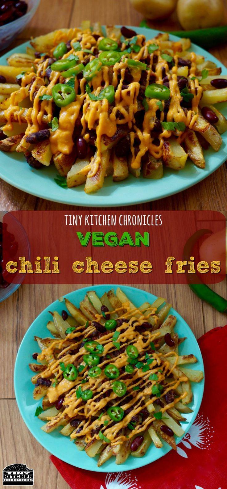 Vegan recipe: Chili cheese fries