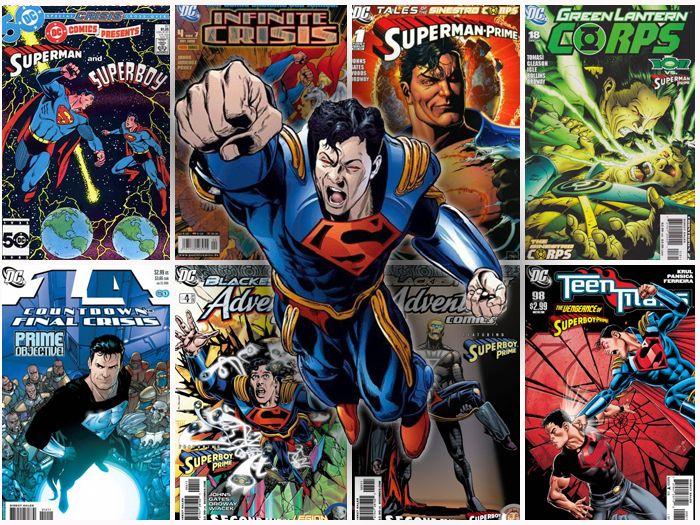 Superboy Prime by Imstillakid-Designs.deviantart.com on @DeviantArt