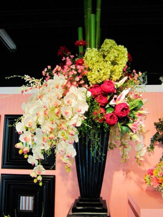 26 best images about hotel style silk flower arrangements on pinterest ceramic vase floral. Black Bedroom Furniture Sets. Home Design Ideas