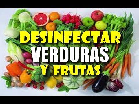 Las frutas y verduras son alimentos muy susceptibles a contaminarse con sustancias o agentes patógenos, suciedad y bacterias ya que provienen de la tierra y ...