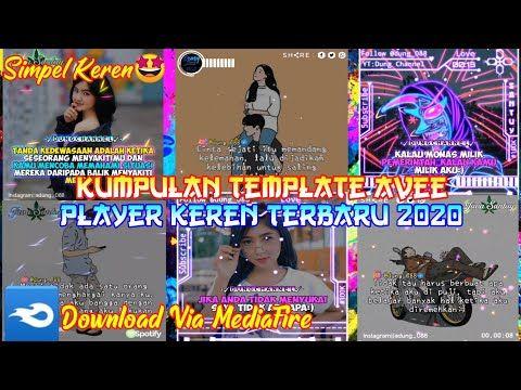 Kumpulan Template Avee Player Template Avee Player Keren Terbaru 2020 Line Art Simpel Youtube Youtube Comic Book Cover Line Art